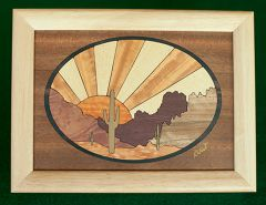 Desert Sun Wood Box (6