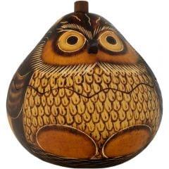 Owl Gourd Box