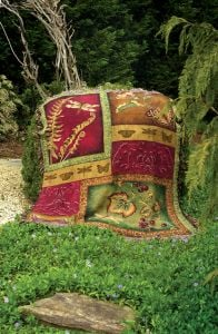 Butterfly & Dragonfly Tapestry Throw