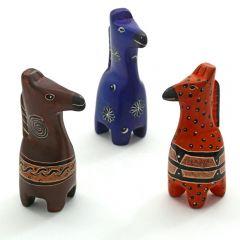 Kenyan Soapstone Giraffe Figurine