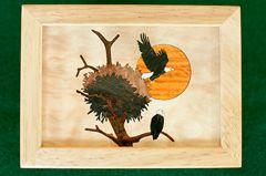 Eagle's Nest Wood Box (4