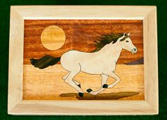 Mustang Wood Box (4