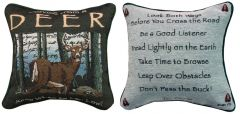 Advice From a Deer™ Pillow