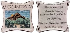 Advice From a Mountain™ Pillow