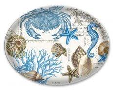 Seashore Glass Soap Dish
