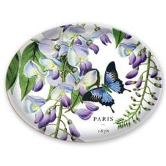 Wisteria Glass Soap Dish