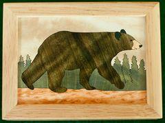 Black Bear Wood Box (4
