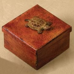 Turtle Metal Box