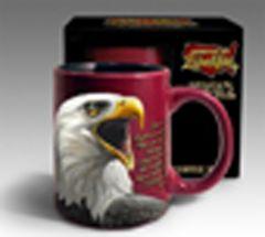 Bald Eagle Stoneware Mug