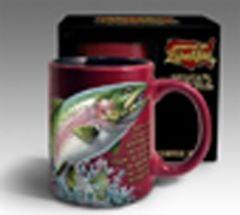 Rainbow Trout Stoneware Mug