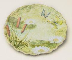 Pond Serenity Melamine Plate