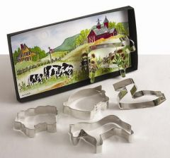 Down on the Farm Cookie Cutter Gift Set