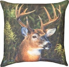 Deer Portrait Pillow
