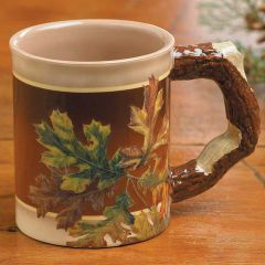 Leaves Sculpted Mug