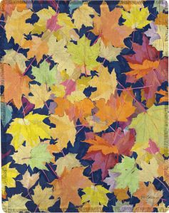 Fall Leaves Throw