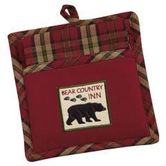 Bear Country Inn Potholder & Towel Set