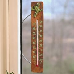 Frog Decorative Thermometer