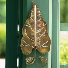Leaf Decorative Thermometer