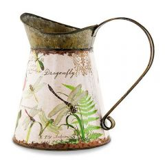 Dragonfly Kingdom Tin Watering Can