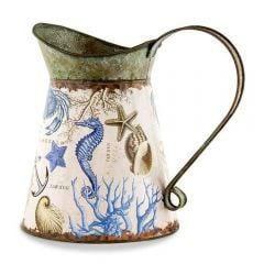 Seashore Tin Watering Can