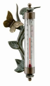 Frog Decorative Crafted Thermometer