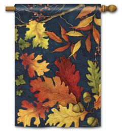 Fall Foliage Large Standard Flag
