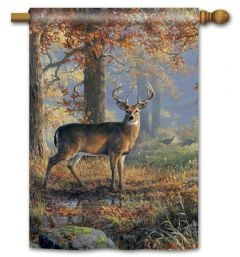 Deer Large Standard Flag