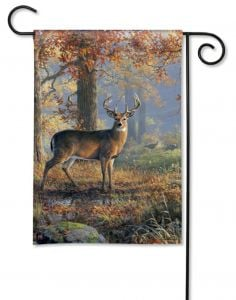 Deer Small Garden Flag