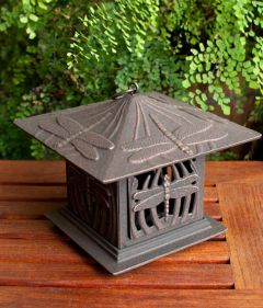 Dragonfly Tea Lantern (Oil Rub Bronze)