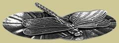 Pewter Dragonfly Barrette