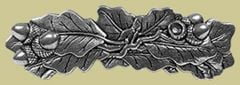 Pewter Oak Leaf Barrette