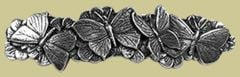 Pewter Butterfly Barrette