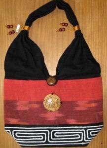 Thai Shoulder Bag (Red)