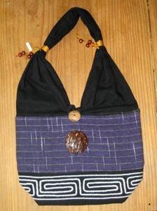 Thai Shoulder Bag (Purple).