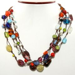 Himalayan Tribal Bead Necklace