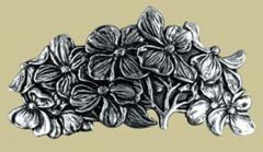 Pewter Dogwood Barrette