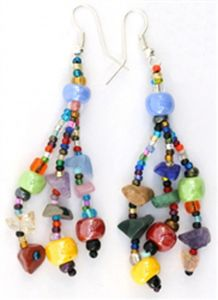 Guatemalan Bead Earrings