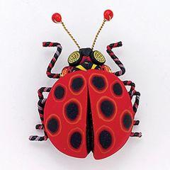 Yipes! Ladybug Pin