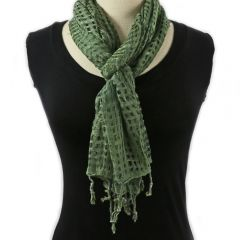 Indonesian Scarf (Green)