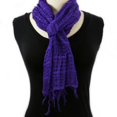 Indonesian Scarf (Purple)