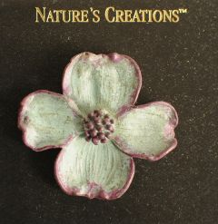 Dogwood Blossom Natural Impressions Pin