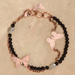 Copper Butterfly Bracelet