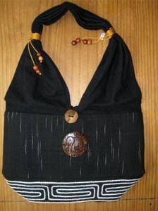 Thai Shoulder Bag (Black)