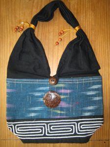 Thai Shoulder Bag (Blue)