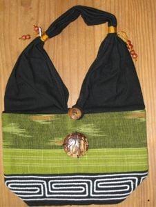 Thai Shoulder Bag (Green)