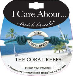 I Care About the Coral Reefs Bracelet