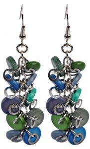 Azure Seas Earrings.