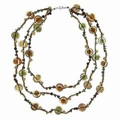 Natural Earth Tone Necklace