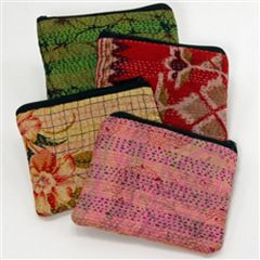 Indian Stitched Sari Change Purse