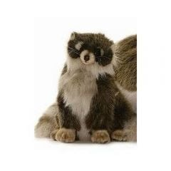 Raccoon, Seated (Hansa Plush)